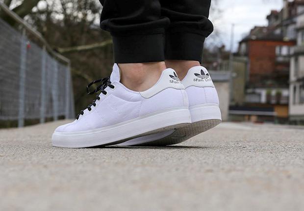 mens adidas stan smith all white