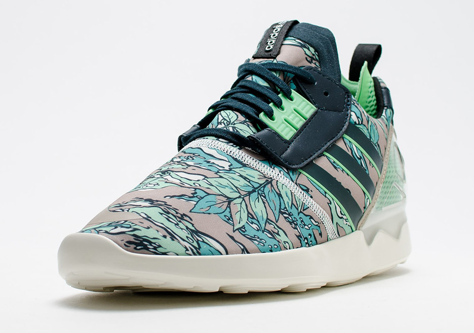 85177364ea2 Hawaiian Inspired Prints Appear on the Upcoming adidas ZX8000 Boost ...