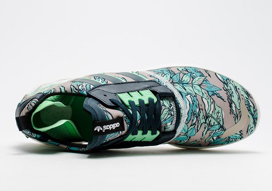 adidas-zx-8000-boost-hawaiian-floral-green-4