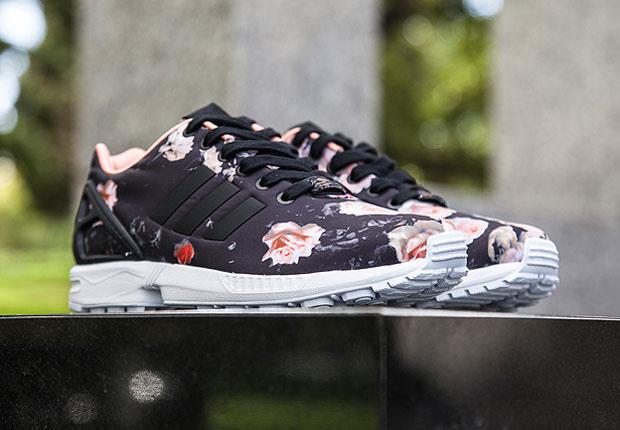 Adidas Sneakers Flowers