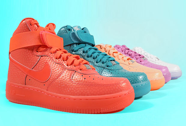 Nike Sportswear gets in on the Easter holiday fun with this collection of  the always in style Air Force 1 exclusively for the ladies. The women s Air  Force ... 40bae276b5