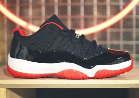 purchase cheap 786de 45cd3 Bred 11 Low Release Info | SneakerNews.com