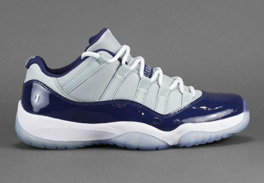 "The Air Jordan 11 Low ""Georgetown"" Releases on April 11th"