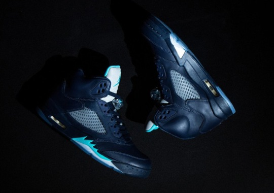 "A Detailed Look at the Air Jordan 5 ""Hornets"""