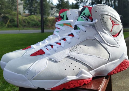 "Air Jordan 7 ""Hare"" Releases on May 16th"
