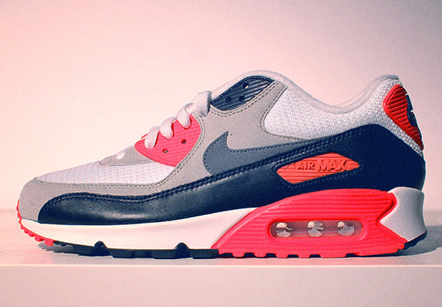 """The Nike Air Max 90 """"Infrared"""" will release on May 18th at Nike retailers  worldwide. We first caught wind of this re-release back in late January  during an ... 2edaa0b81"""