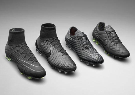 All Black Everything For The World's Best at the Nike Football Academy