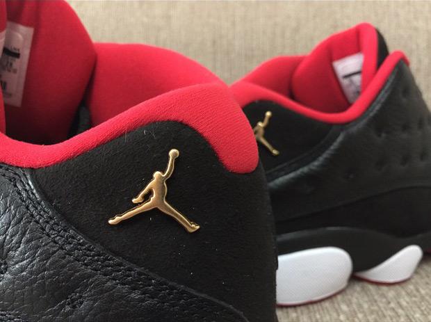 Air Jordan 13 Bassi Il Mini-rosso Bianco Nero / Metallic Gold-universitaria i0Tf4C3