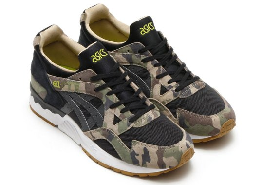 """A Detailed Look at the atmos x Asics Gel Lyte V """"Camo"""""""