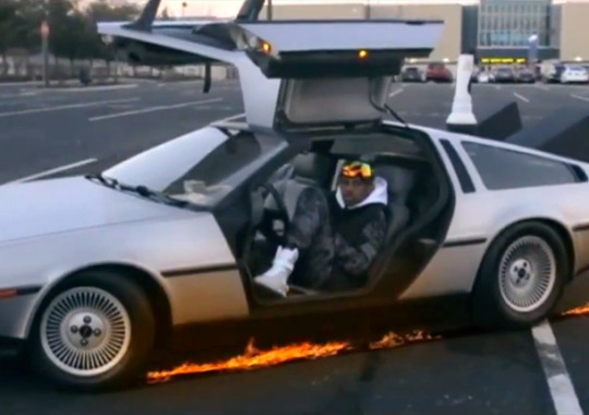 Nike Mags And A DeLorean Co-Star In Fabolous' Latest Music Video