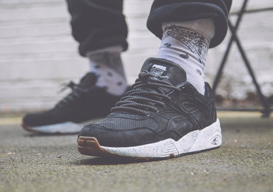"Foot Patrol x Trax Couture x Puma R698 ""Record Store Day"""