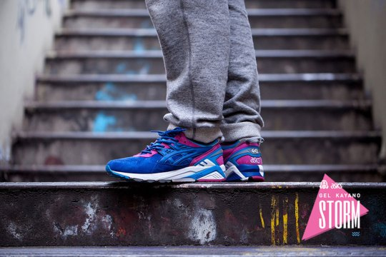 "Foot Patrol's Asics Gel Kayano ""Storm"" Releases on April 11th"