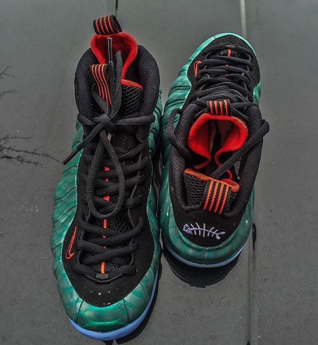 d8644740562 durable modeling Nike Air Foamposite One quot Gone Fishingquot Releasing  After NBA Playoffs