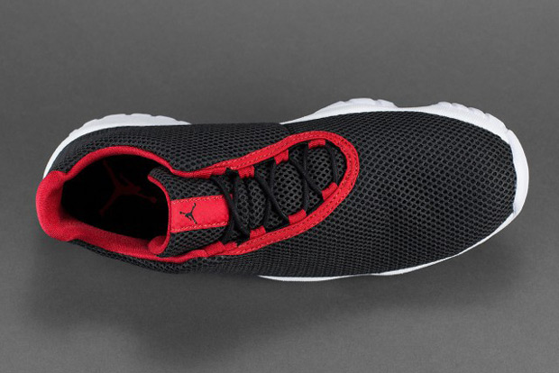 Air Jordan Future Low Black University Red White