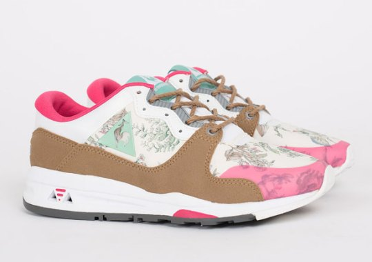 Le Coq Sportif Is Getting Into Flower Prints Too