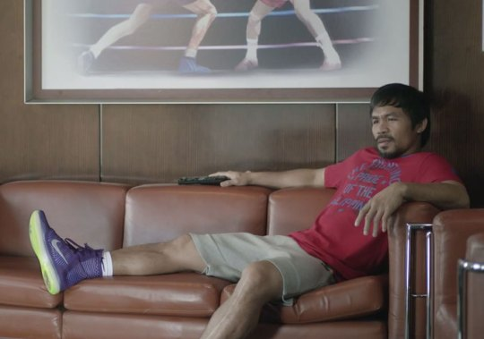 Manny Pacquiao Might Wear Nike Kobes Against Floyd Mayweather