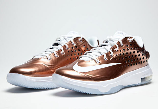 "newest ee0d2 627be Nike KD 7 Elite ""EYBL"" Color  Bronze White-Treasure Blue Style Code   800514-914. Release Date  05 08 15. Price   220. Air Jordan 20"