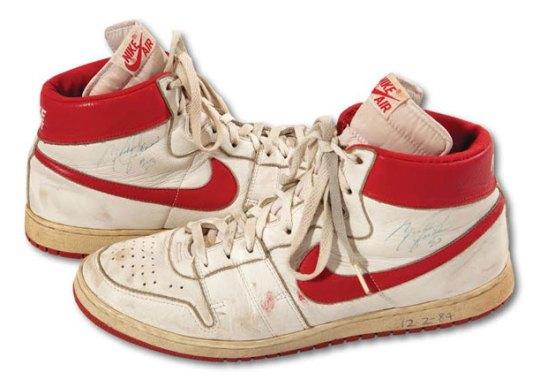 Michael Jordan's Nike Air Ships Sold For Over $71k