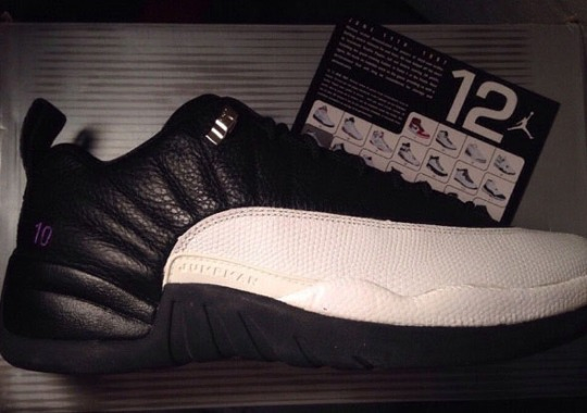 "Mike Bibby s Air Jordan 12 Low ""Kings Away"" PE is Available on eBay 6d866dbe39"