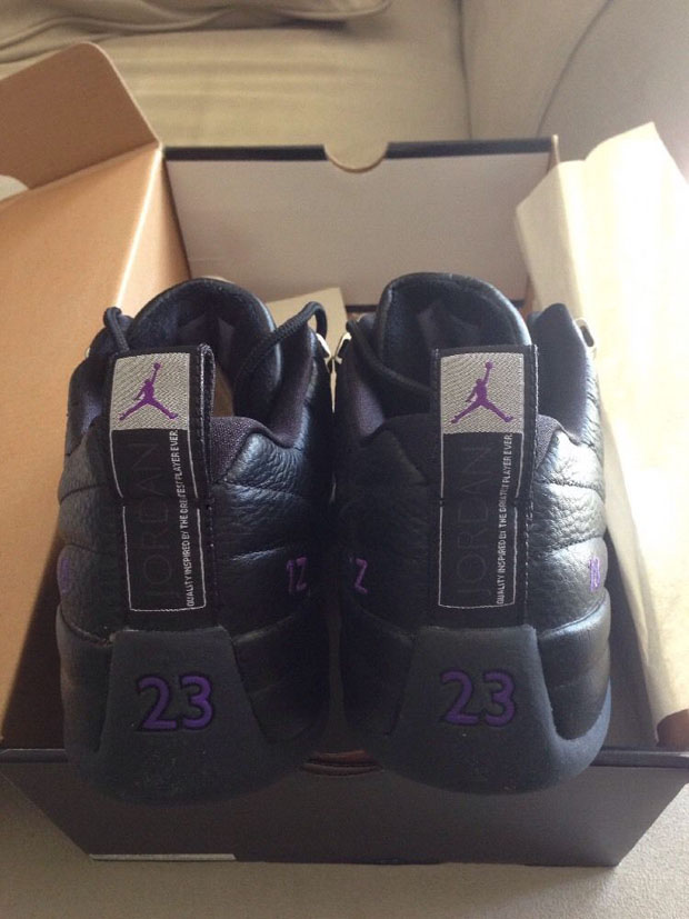 super popular d714b 23c2c mike-bibby-kings-away-air-jordan-12-pe-