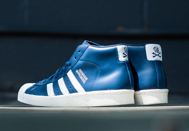 super popular 16357 53057 neighborhood-adidas-originals-pro-model-navy-white-01