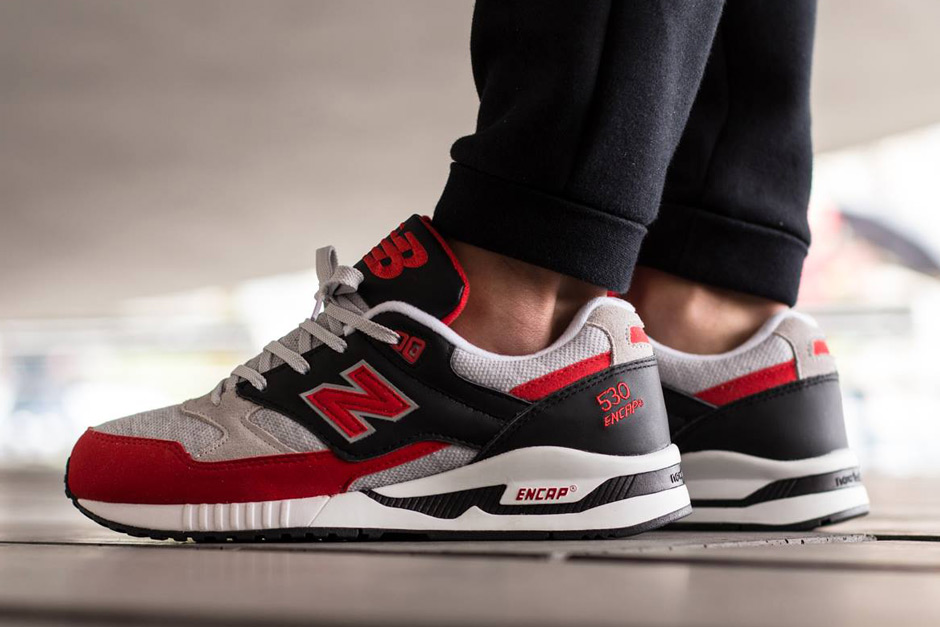 new balance 530 on feet