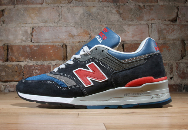 official photos 5a233 8ce1c New Balance 997 - Navy - Red - White - SneakerNews.com