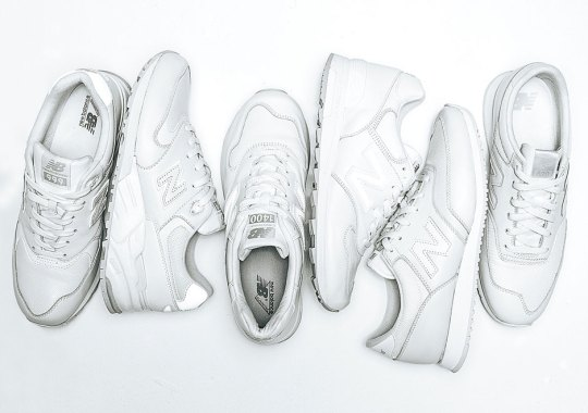 New Balance is All In on All-White