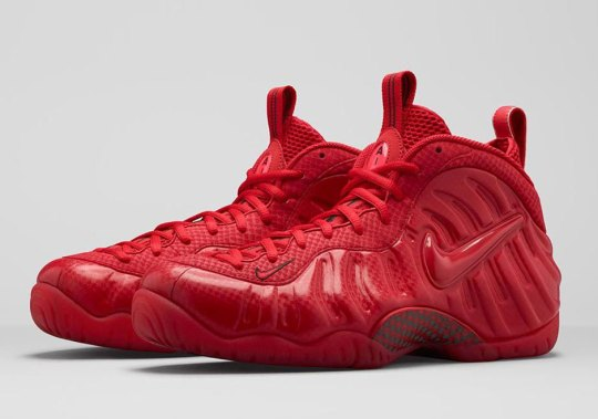 "Nike Air Foamposite Pro ""Gym Red"" Releasing on April 11th"