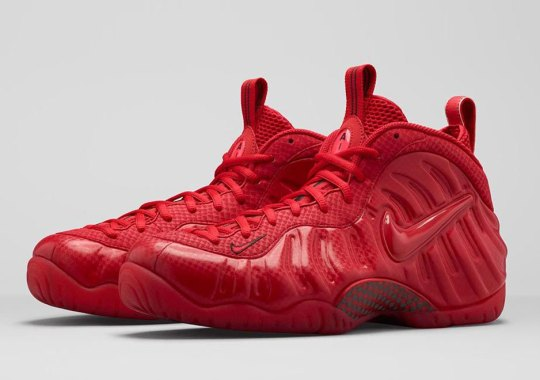"3ac45889307ce Nike Air Foamposite Pro ""Gym Red"" Releasing on April 11th"