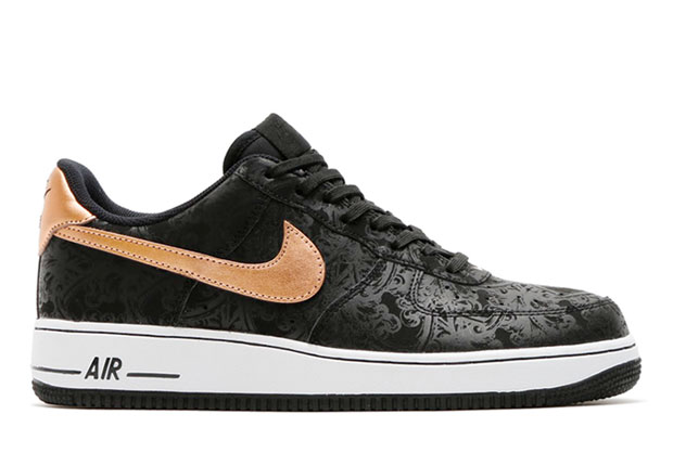 Dressed Up Nike Air Force 1s With