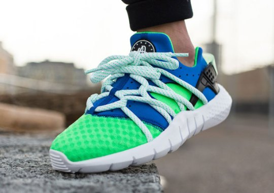 An On-Foot Look At The Nike Huarache NM Colorway You've Been Waiting For