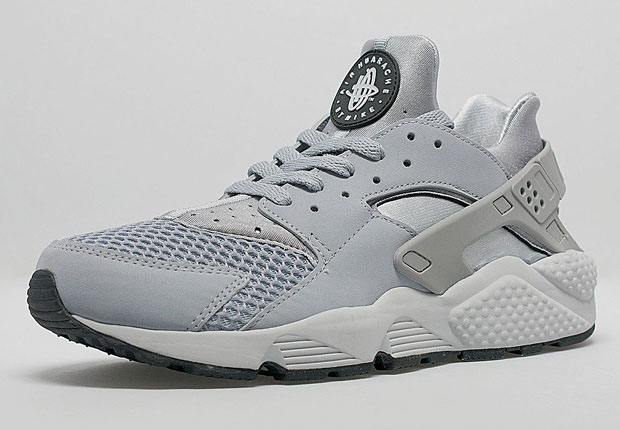 Toes Wolf Nike With Grey Air Huarache Mesh 8nO0wPkXN