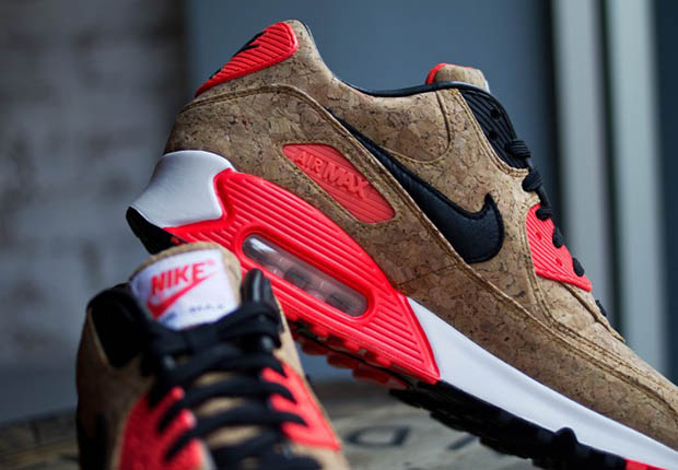 "cheaper c7f5c 8f618 After a long series of preview looks and anticipation, fans of the Nike Air  Max 90 ""Cork"" can finally pop open their wallets and pop on their pairs of  the ..."