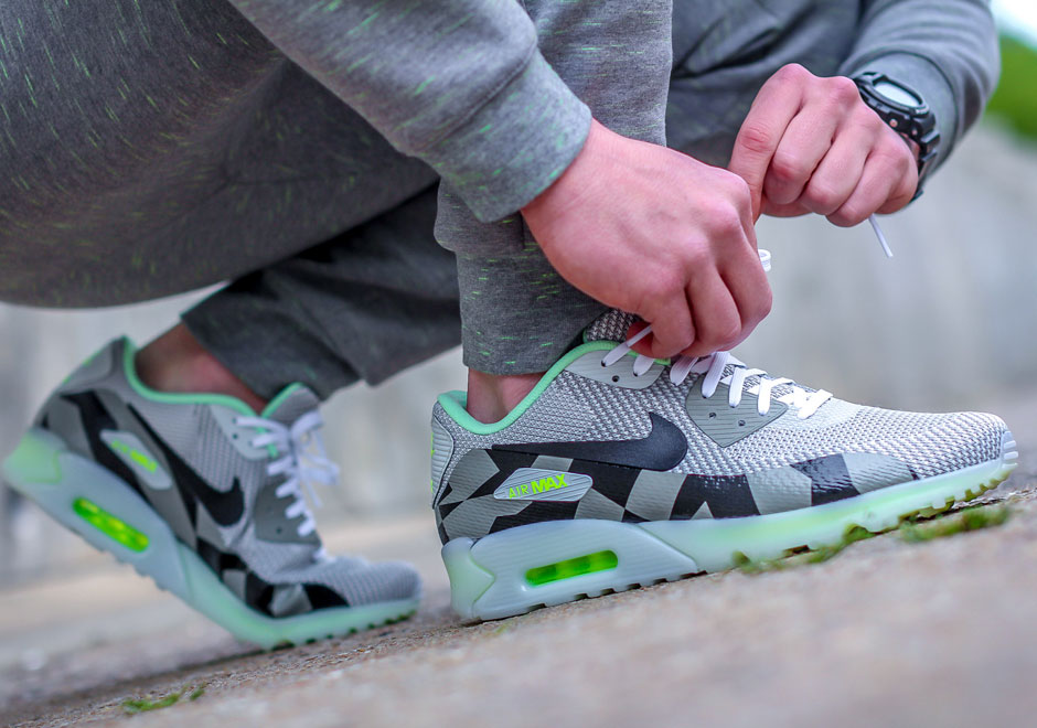 Femmes Nike Air Max 90 Ice - 2015 04 23 Nike Air Max 90 Jacquard Ice Pack Available Expiration