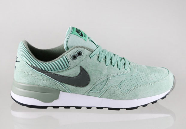 e58644351d36 Nike Paints Three Retro Runners With Enamel Green - SneakerNews.com
