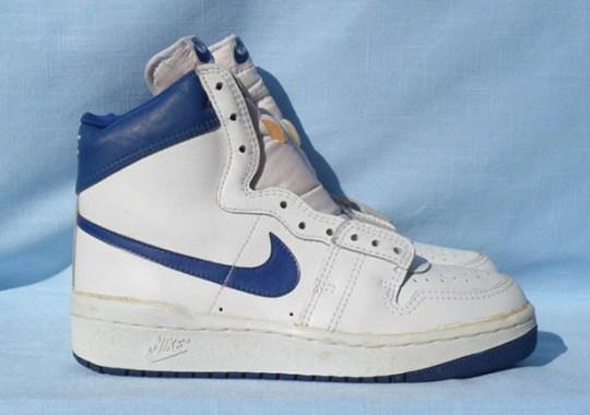 Michael Jordan's Infamous First Nike Sneaker in Royal Blue