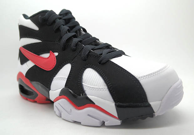 uk availability 01d90 7745f Amazon.com Nike Mens Air Diamond Fury 96 WhiteUniversity Red-Black Leather  Running nike-diamond-fury-retro-black-white-red-2 ...