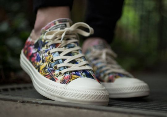 New Floral Styling on the Converse Chuck Taylor Ox