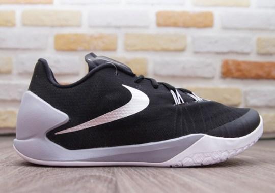 6635a2cf76a57e Nike Hyperchase – Black – Metallic Silver