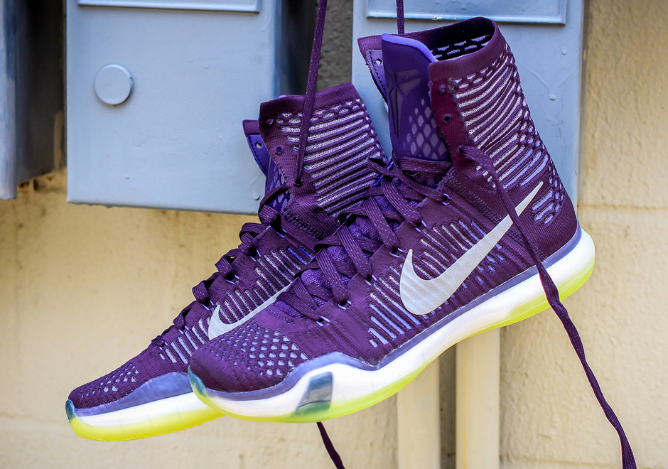 nike kobe 10 purple red