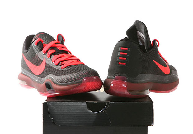cheap for discount 41710 eac41 Nike Kobe 10 GS Black Bright Crimson Anthracite delicate