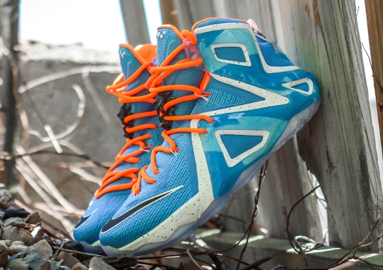 """Nike Gets A Little """"Throwback"""" With The LeBron 12 Elite """"Elevate"""""""