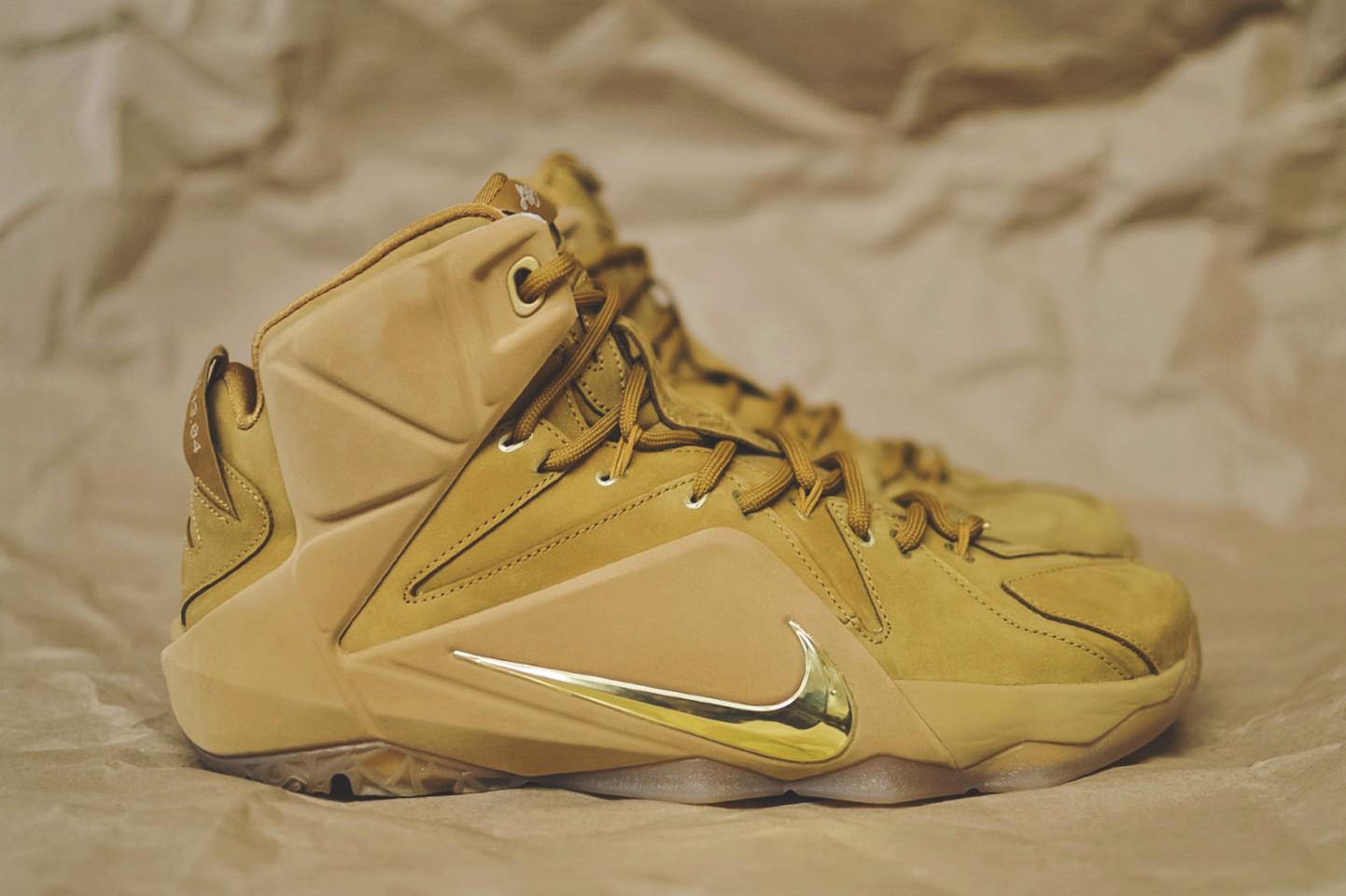 "4a7d26d9d795 Nike LeBron 12 EXT ""Wheat"" – Release Reminder"