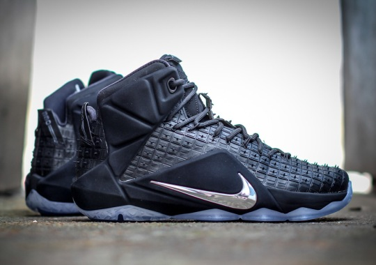 "The Nike LeBron 12 ""Rubber City"" Releases on April 25th"