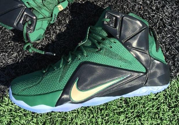 "lowest price 2124c b3ccd Nike LeBron 12 ""SVSM Away"" PE on eBay"
