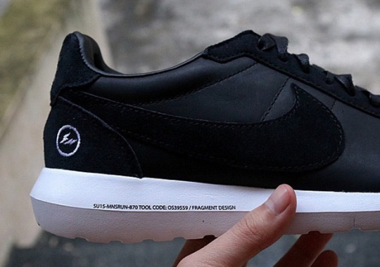 "fragment design x Nike Roshe LDV ""Black"""