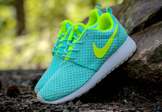 3227518c9832 Take a deep breath and check out this latest aerated edition of the Nike  Roshe One for ladies. This BR (Breathe) edition arrives in perfect parallel  with ...