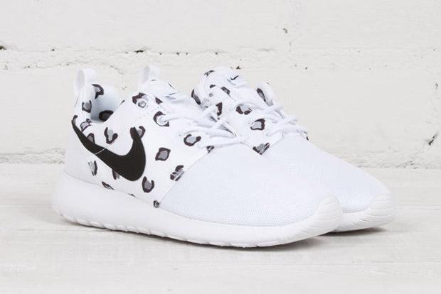 Nike Roshe Copias Distribuidas Blanco Leopardo Guepardo Animal Print Gt8sbX
