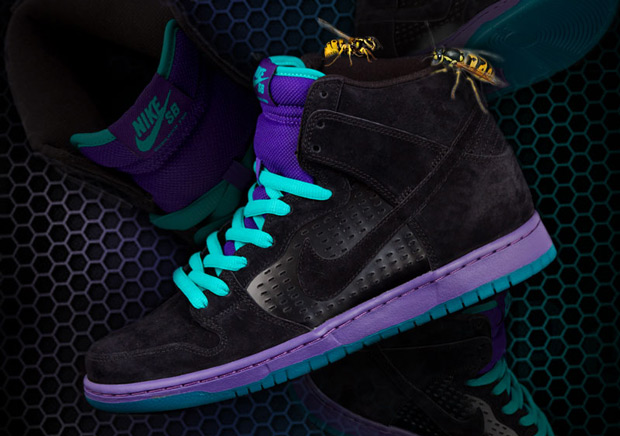 "new arrival e8f4e 458cd Nike SB Dunk High ""Grape"" Releasing In May"